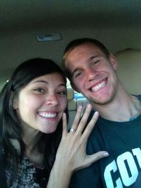 We Got Engaged! November 2012